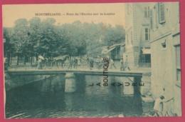 25 - MONTBÉLIARD---Pont De L'Enclos  Sur La Luzine---animé---- - Montbéliard
