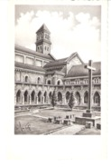 Abbaye Notre-Dame D'Orval-(Florenville)-+/-1955-Le Préau-d'après Un Dessin Original De Geo Fosty-Edit.Géoluc - Florenville