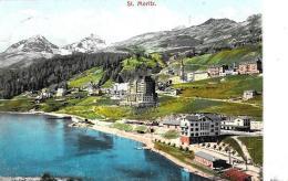 [DC9388] CPA - SVIZZERA - ST. MORITZ - Viaggiata 1910 - Old Postcard - GR Grisons