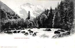 [DC9389] CPA - SVIZZERA - LUTSCHINE MIT JUNGFRAU - Non Viaggiata - Old Postcard - BE Berne