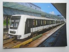 D156157 Subway Metro  Railway  -  -Budapest - Metropolitana