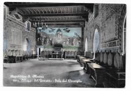 REPUBBLICA DI S.MARINO - PALAZZO DEL GOVERNO - SALA DEL CONSIGLIO - NV FG - San Marino