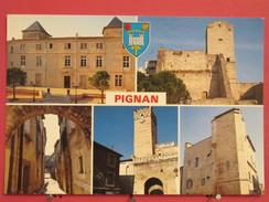 34 - Pignan - Vues Diverses - Scans Recto-verso - Other Municipalities