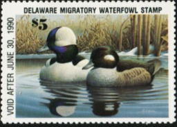 DELAWARE 1989 USA State Ducks Birds Hunting Wildlife Fauna MNH - United States