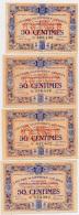 1914-1918 // C.D.C. // EVREUX //  4 X 50 Centimes - Chambre De Commerce