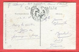 14 18  Italie Ville étape Armée Orient Oblitération Commando Militare Stazione La Spezia - 10 ème Infanterie 1918 - 1900-44 Vittorio Emanuele III