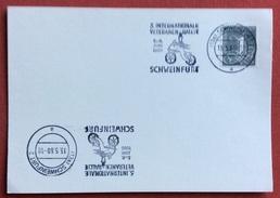 TEMATICA CICLISMO  GERMANIA 5 INTERNATIONALE VETERANEN-RALLYE A SCHWEINFURT 13/5/60 - Croce Rossa