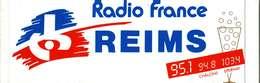 Autocollant  -     Radio France  REIMS - Stickers