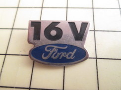 Pin411a Pin's Pins / Beau Et Rare : AUTOMOBILES / FORD 16V - Ford
