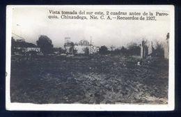 Nicaragua. Chinandega. *Recuerdos 1927... Incendio* Nueva. - Nicaragua