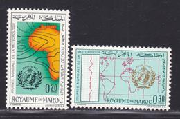 MAROC N°  472 & 473 ** MNH Neufs Sans Charnière, TB  (D2849) - Marokko (1956-...)