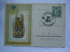 GERMANY - 1940 Cover - Tag Der Briefmarke 1940 - Stuttgart Sonderstempel - Briefe U. Dokumente