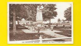 LES EGLISOTTES Monument Aux Morts (Marcel Delboy) Gironde (33) - Altri Comuni