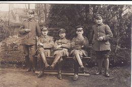 CP Photo 1916 MONCHECOURT ??? - Soldats Allemands (A185, Ww1, Wk 1) - France