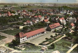 CPSM Dentellée - REICHTETT (67) - Vue Aérienne Du Quartier De L'Ecole Maternelle En 1960 - Other Municipalities