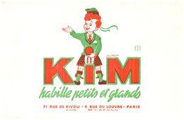 V K/Buvard Vétements Kim  (Format 21 X 13.5) (N= 1) - Blotters