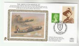1995 GB Very Ltd EDITION COVER Anniv BODENPLATTE RAID BELGIUM WWII British Forces Event Aviation Stamps Churchill - WW2