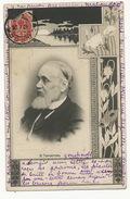 Ivan Gontcharov Writter Born In Simbirsk Oulianovsk Lenin Used From Odessa Ukraine  Art Nouveau Envoi à Rosey 71 - Russia