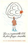 V CC/Buvard Vétements CCC  (Format 21 X 13.5) (N= 1) - Blotters