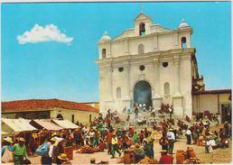 Amerique : Guatemala :  Vue église , Iglesia De  Chichicastenango - Guatemala