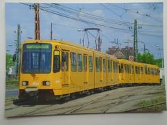 D156162   Tramway Tram Strassenbahn - Bahn - Railway - Tranvia    -Budapest  Köbánya - Tramways