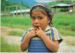 Amerique : Guatemala : Jeune  Fille  1994 - Guatemala