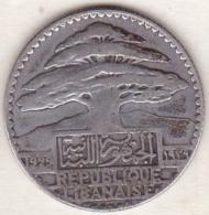 LIBAN/LIBANON. 25 PIASTRES 1929 . ARGENT - Lebanon