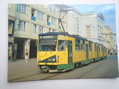 D156170 Tramway Tram Strassenbahn - Bahn - Railway - Tranvia    Miskolc - Tram