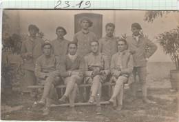 Militaria - Carte Photo - 159é Régt  Groupe De Soldats   (  Photo : A  Définir) - Régiments