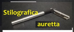 "Penna Stilografica ""auretta"" Aurora - Acciaio - Penne"