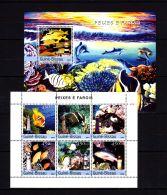 Guinea-Bissau 2004 Marine Life MNH -(ZB1) - Meereswelt
