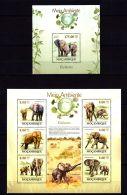 Mozambique 2010 Elephants MNH -(ZB1) - Timbres