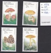 N° 408 à 411 Timbres Neufs Champignon De Turquie - Champignons