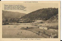 Le Lac Chambon - Plage Et Baigneurs - Frankrijk