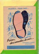 Protege Cahier Portez Des Semelles De Cuir    Recto Verso - Protège-cahiers