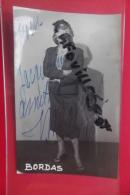 Cp  Photo Bordas Signé 1960 - Fotografia