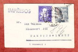 Drucksache, MiF Franco U.a., Nach Hamburg 1955 (44363) - 1951-60 Briefe U. Dokumente