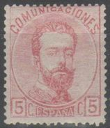 Spagna 1872 - Amedeo I 5 C. * - 1872-73 Regno: Amedeo I