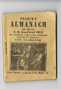 SNOECK ' S Almanach 1914 - Books, Magazines, Comics