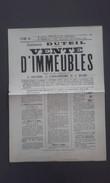 50 - LA HAYE-PESNEL - LA LUCERNE - LA BESLIERE - FOLLIGNY - Affiche Vente D'immeubles 1903 - Affiches