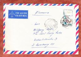 Luftpost, EF Olympiade Mexiko, Maspalomas Nach Hamburg 1969 (44366) - 1931-Heute: 2. Rep. - ... Juan Carlos I