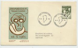 GREENLAND 1961 Greenlandic Sagas II On FDC.  Michel 46 - FDC