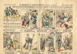 Le Miracle De Saint-Nicolas Imagerie D'epinal Nr 645 - Vieux Papiers