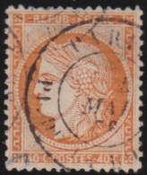France  .    Yvert   .      38          .       O    .       Oblitéré - 1870 Siège De Paris