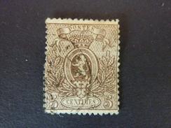 BELGIQUE, Année 1866-67, YT N° 25 Oblitéré  (cote 85 EUR) - 1866-1867 Petit Lion
