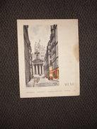"""Menu """"Compagnie Générale Transatlantique"""" French Line / Paris Rue Laffitte Et Sacré Coeur Illustration Edouard Collin - Menus"""