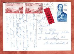 AK Bungalow, Expres, MiF San Elias Alaska U.a., Telde Nach Hamburg 1967 (44369) - 1931-Heute: 2. Rep. - ... Juan Carlos I