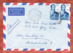 Luftpost, MeF Cayetano Valdes, Las Palmas Nach Hamburg 1967 (44373) - 1931-Heute: 2. Rep. - ... Juan Carlos I