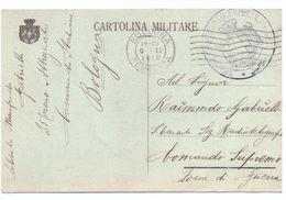 STORIA POSTALE - ANNO 1910 - CARTOLINA MILITARE - BOLOGNA FERROVIA - AL COMANDO SUPREMO - PER ZONA DI GUERRA - - Marcophilia