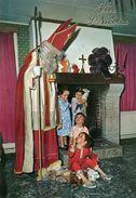 Saint-Nicolas Avec Enfants Et Peluches. - Nikolaus